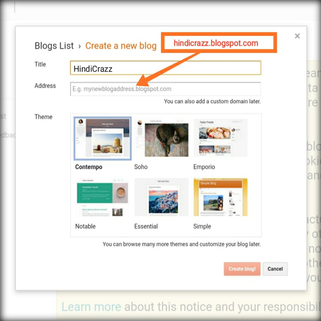 Free blog kaise bnaye ? How to make a free blog