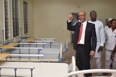 Lagos gets ready special wards for coronavirus victims