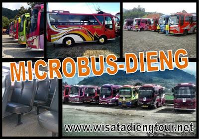 shuttle bus dieng
