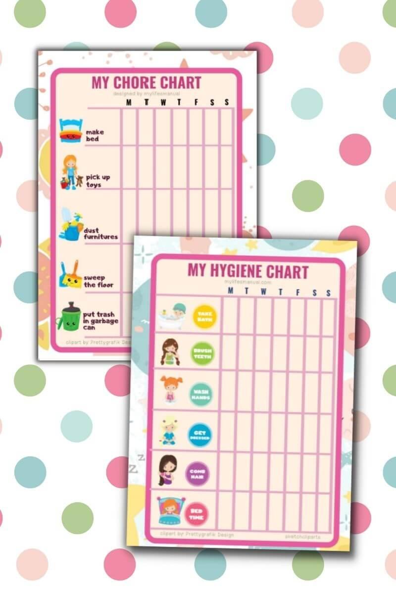 Kids Chore Charts Free Download
