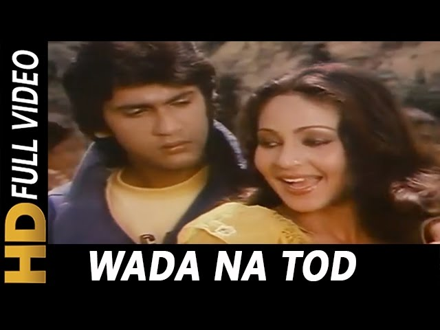Wada Na Tod - Lata Mangeshkar Lyrics In Hindi