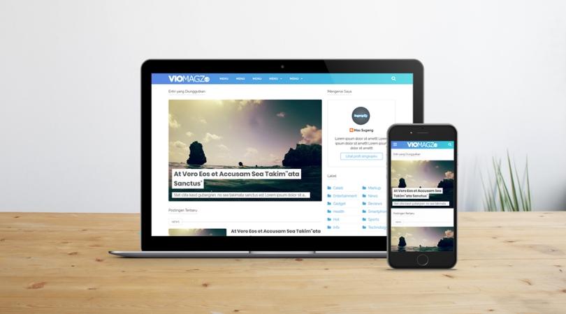 VioMagz v3.1 - Responsive Blogger Template