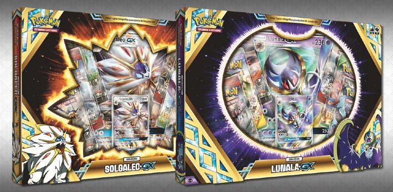 Coleção Lunala-GX e Solgaleo-GX