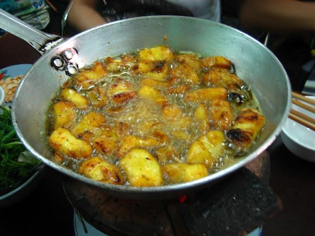 Cha ca La Vong (Hanoi Tumeric Fish with Dill) 2