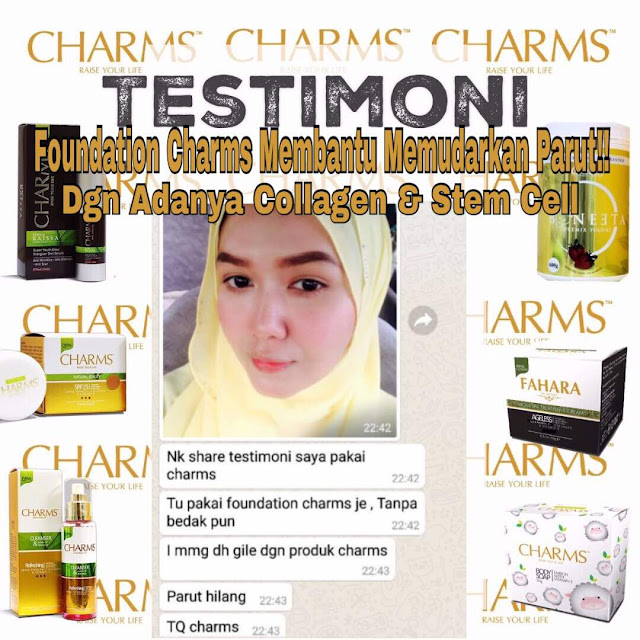 Testimoni Charms Foundation