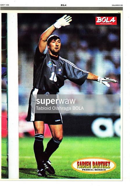 FABIEN BARTHEZ MONACO FRANCE 1997