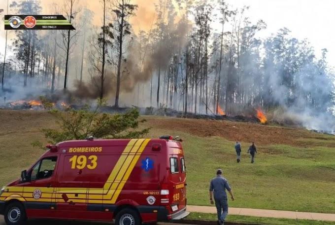 Avião cai e deixa sete mortos no interior de São Paulo