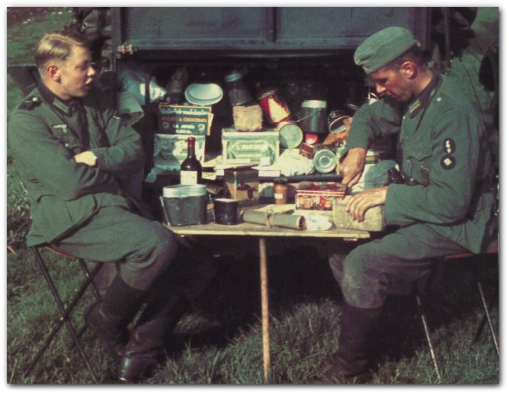 World War II in Color: German Ration of World War II