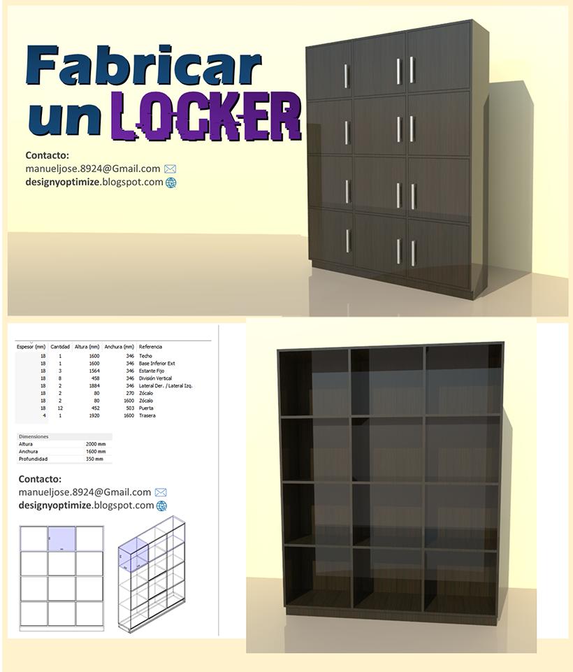dise o de muebles madera c mo crear un locker de madera
