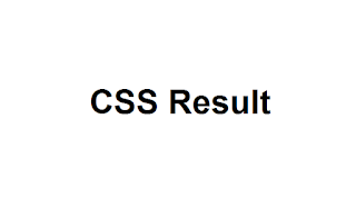 CSS Result 2018 Announced Today - FPSC Results Check Online