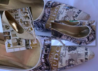 O que fazer com os sapatos velhos