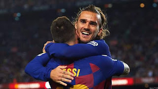 Griezmann: Messi & I Don't Talk Much But We're On Right Track