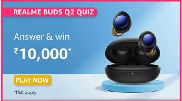 Which is the Latest True Wireless Earbuds recently lauched by realme among the following?