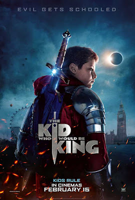 poster The Kid Who Would Be King 2019 Dual Audio HD 720p