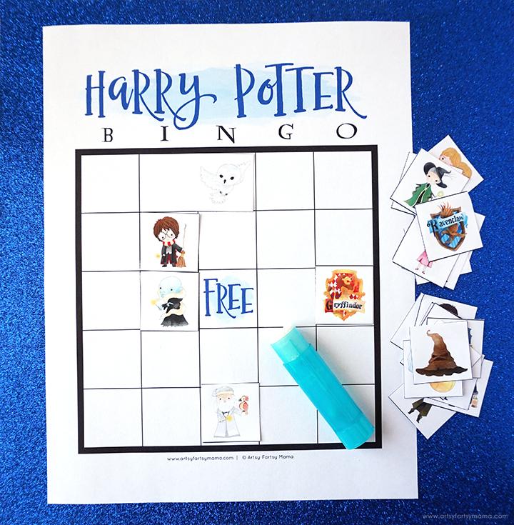 Free Printable Harry Potter Bingo Blank Set