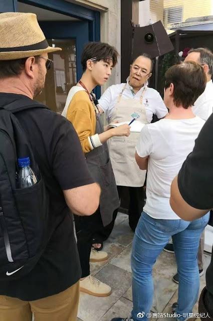 Zhang Tielin, Vicki Zhao, Alec Su reunited