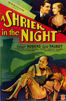 Póster película A Shriek in the Night