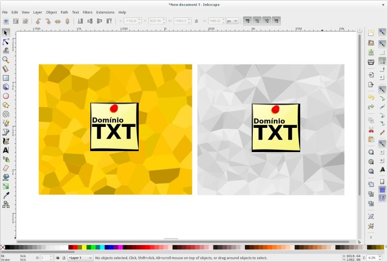 DominioTXT - Inkscape Tela