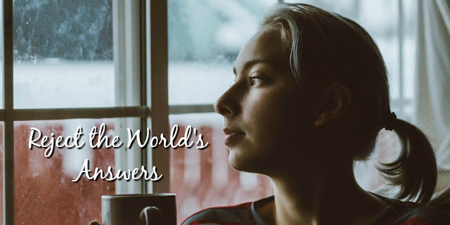 We can try to encourage our hearts with empty worldly answers -- or we can encourage ourselves in the Lord! This 1-minute devotion explains.