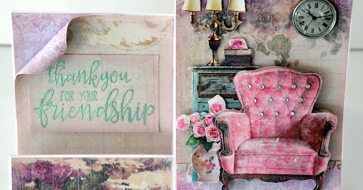 Step Cards - Shabby Chic