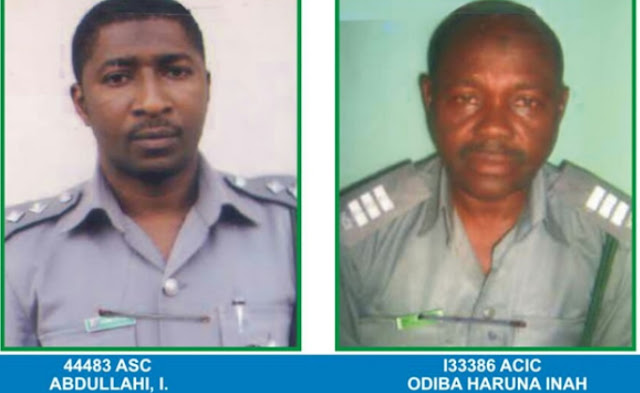 customs officers allowed criminals import 661 pump action rifles into nigeria