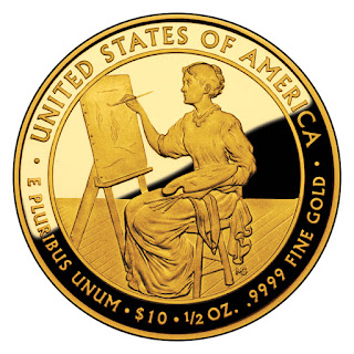 United States Gold Coins  Lucretia Garfield 2011 10 Dollars First Spouse Gold Coin