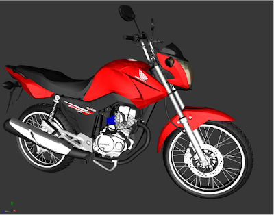 GTA - SA HONDA CG FAN 150 2