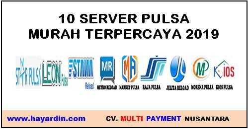 Server Pulsa Murah Terpercaya 2019