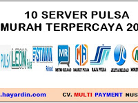 10 Daftar Server Pulsa Murah Terpercaya 2019