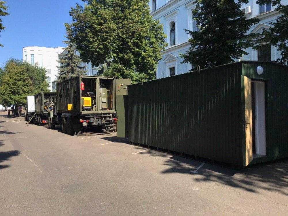 Prototypes of residential modules for the military were presented
