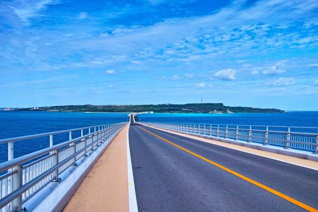 Jembatan Irabu Ohashi Jepang