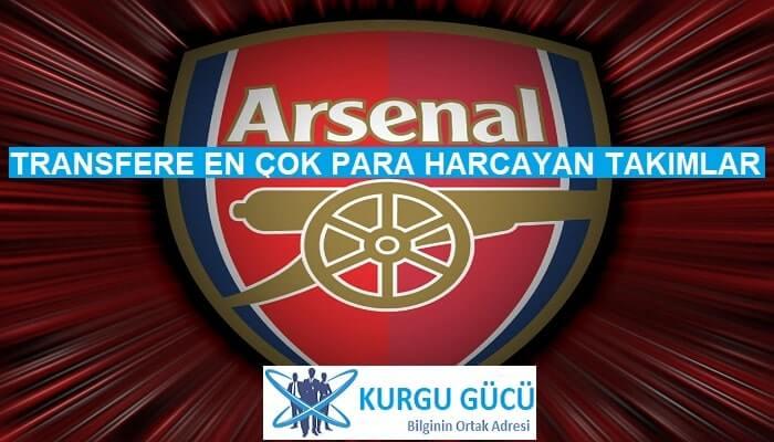Transfere En Çok Para Harcayan Takımlar - Arsenal - Kurgu Gücü