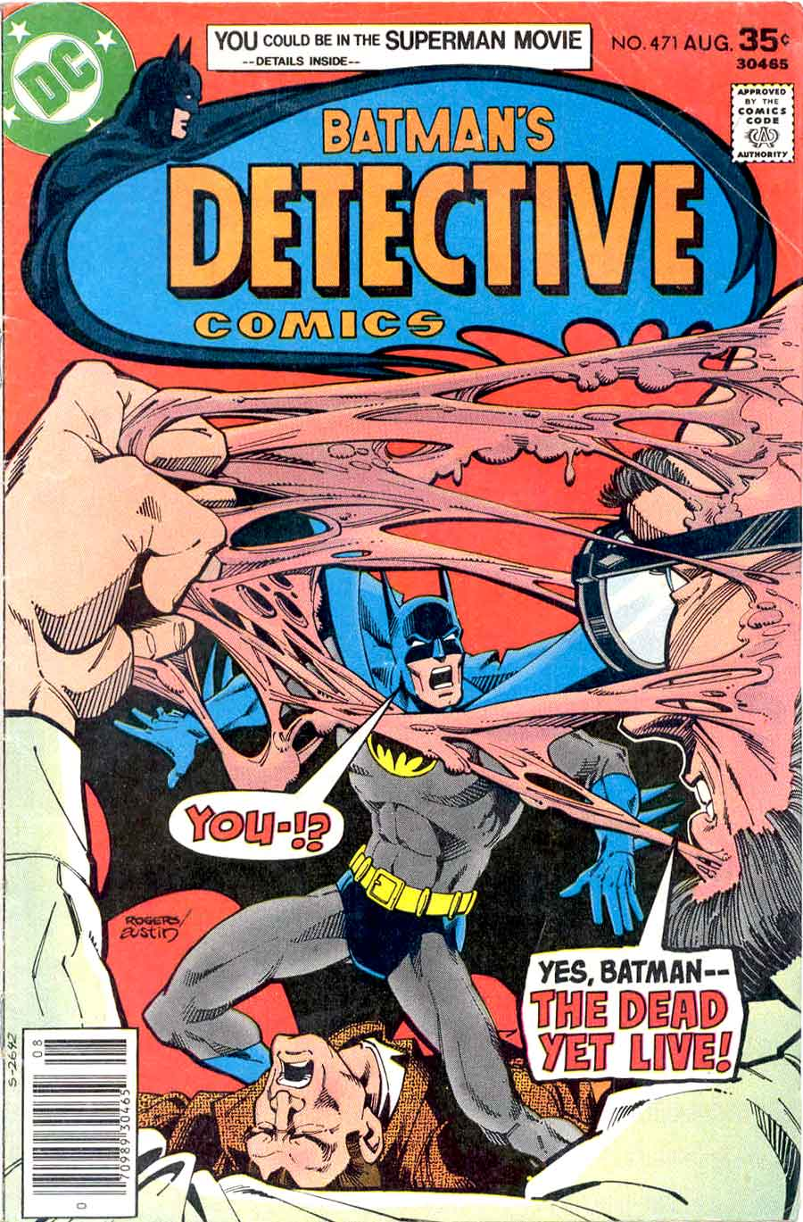Detective Comics v1 #471 dc comic book cover art by Marshall Rogers