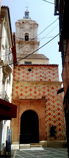 Málaga's church of San Juan