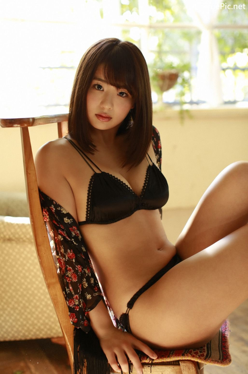 Image-Japanese-Actress-And-Model-Natsumi-Hirajima-Sexy-Lingerie-Queen-TruePic.net- Picture-5