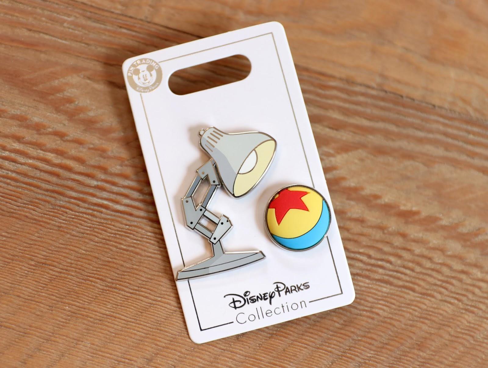 Disney Parks Collection Luxo Jr. Pin Set