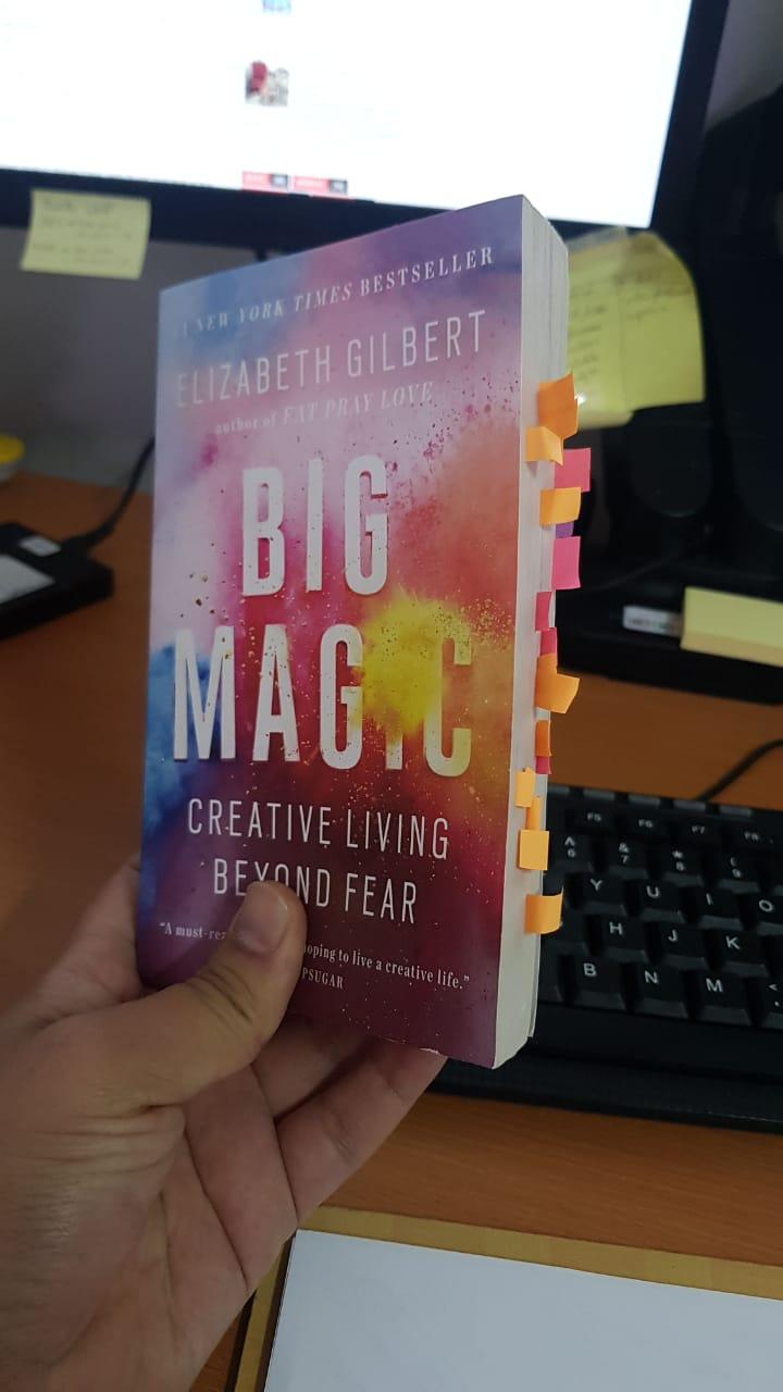Buku Big Magic - Elizabeth Gilbert