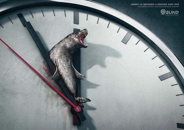 Green Pear Diaries, publicidad, advertising, BUND, especies en extinción