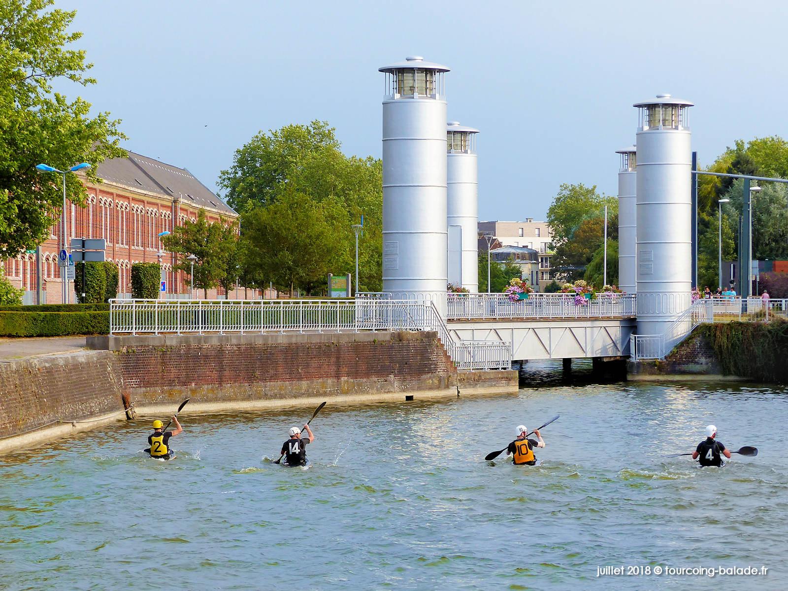 Entraînement Kayak-Polo, Canal de Tourcoing 2018