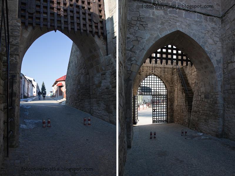 Szydłów, Brama Krakowska, mury obronne, świętokrzyskie