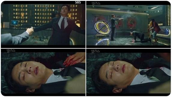 adegan kematian Min Hyuk di ALICE
