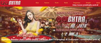 Kontes SEO terbaru 2019 Bandar live Casino QQExtra