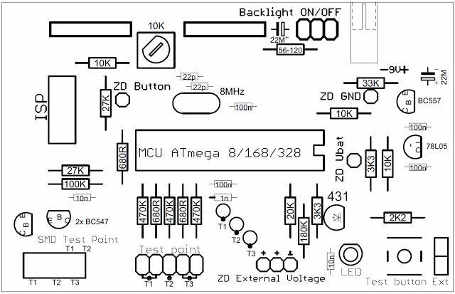 Rady a zkušenosti fandapro, AVR tester: AVR tester