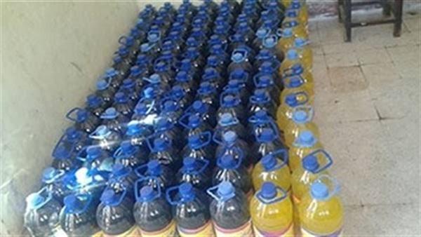 ضبط 2000 عبوة منظفات بمصنع غير مرخص بالبحيرة