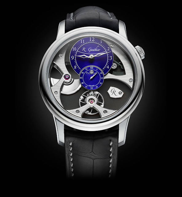 Romain Gauthier Insight Micro-Rotor Natural Titanium