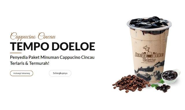 Franchise Minuman Cappucino Tempo Doeloe