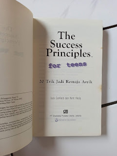 The Success Principles For Teens 20 Trik Jadi Remaja Asyik