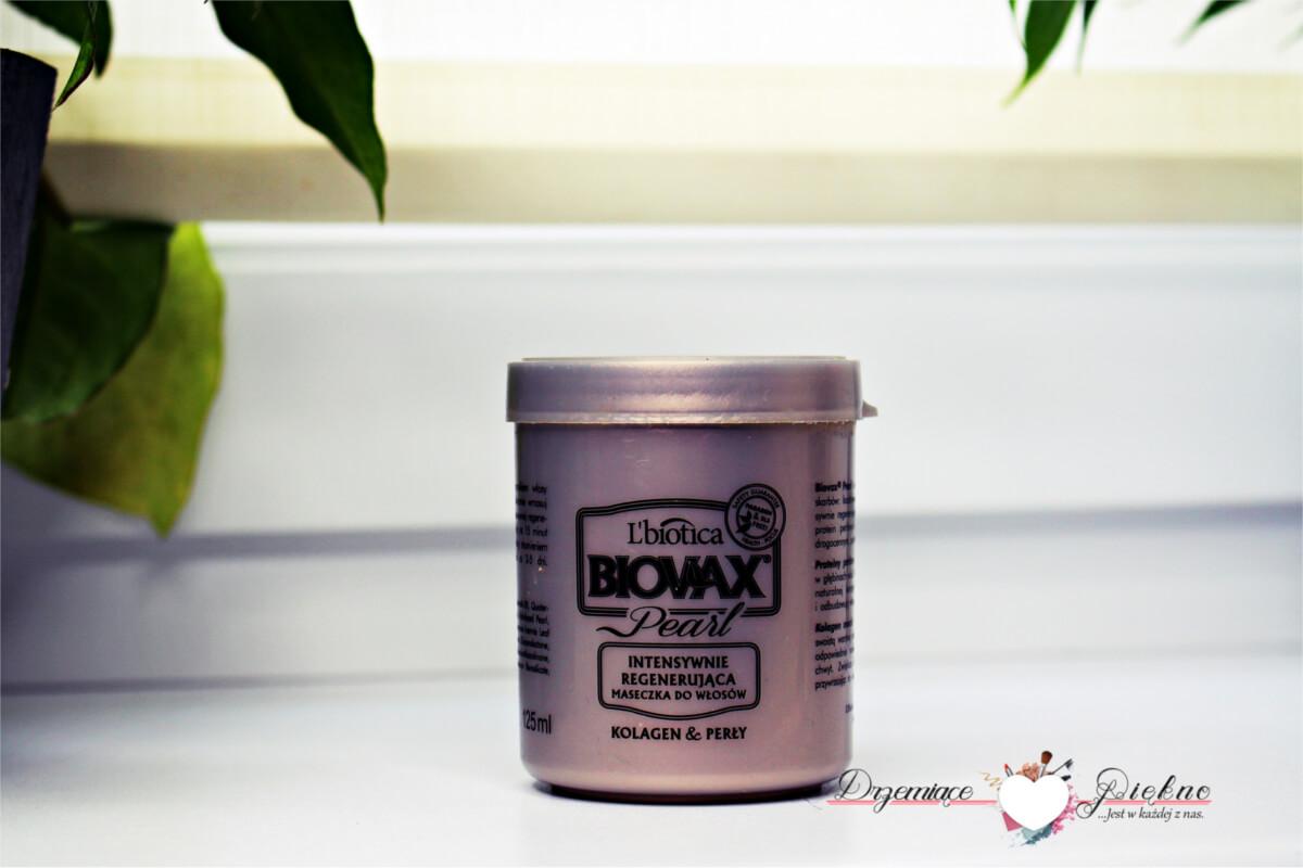 Biovax Pearl, Intensywnie regenerująca maseczka do włosów, L'biotica - Denko Styczeń 2018