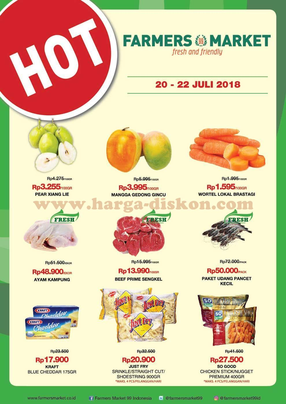 Promo Farmers Market Katalog Jsm Akhir Pekan 20 22 Juli 2018 News And Talking