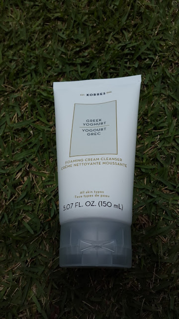 Korres Greek Yoghurt Foaming Cream Cleanser - www.modenmakeup.com